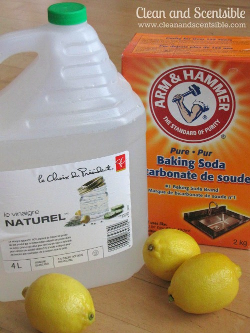 Get your cleaning supplies organized! {green cleaning}