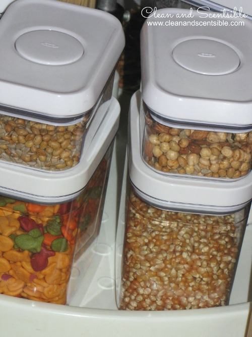 Great tips for organizing your pantry!