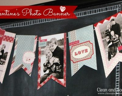 Valentine's Day Photo Banner