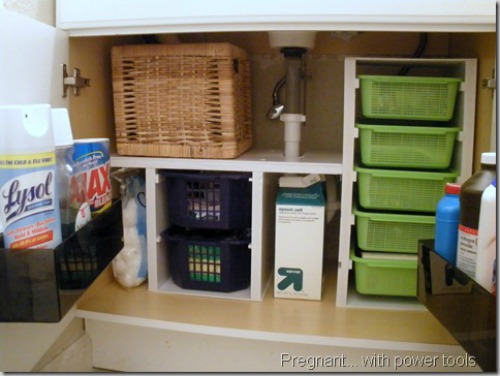Great tips for organizing under the