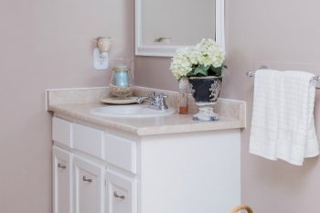 Quick and Easy Bathroom Cleaning Tips {The Household Organization Diet}