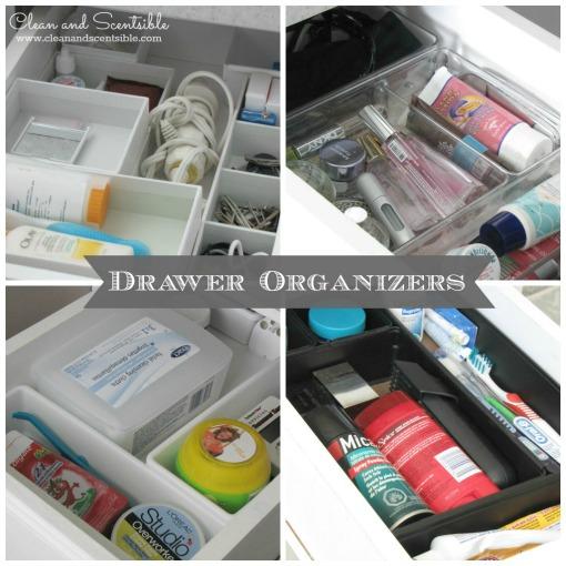 Great bathroom organization and storage tips!