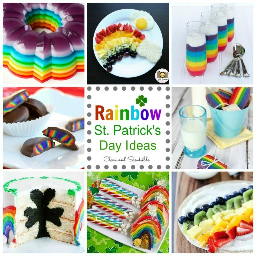Awesome rainbow ideas for St. Patrick's Day!