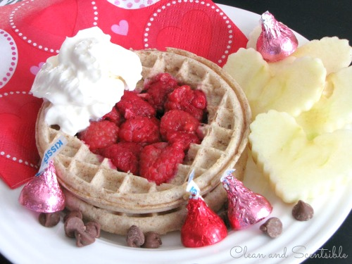 Quick And Easy Valentineu0027s Day Breakfast.