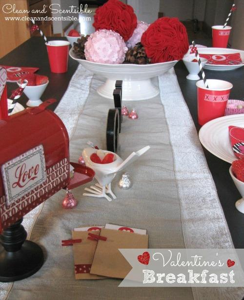 Fun Valentine's Day breakfast ideas.