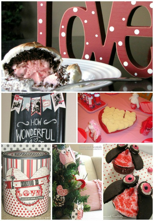 Awesome Valentine's Day ideas including decor, crafts, recipes, and party ideas.