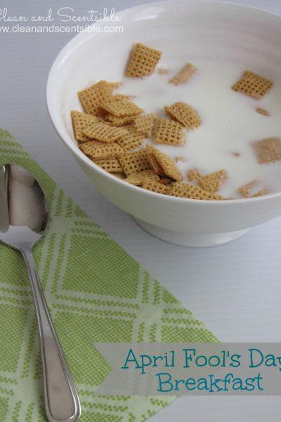 Easy April Fool's Day Breakfast