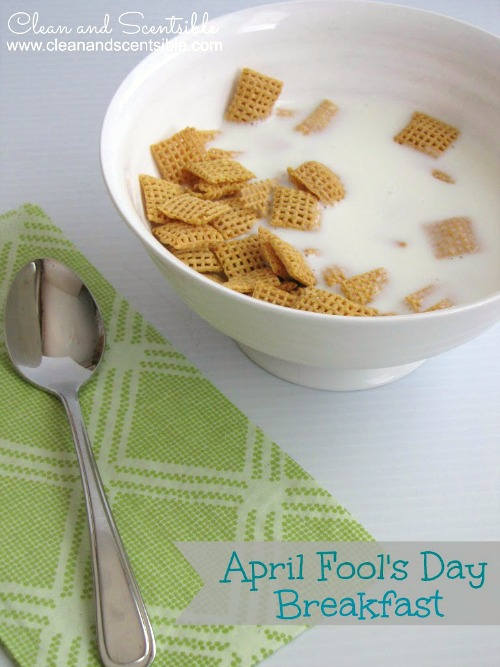 Fun April Fool's Day breakfast and lots of other great April Fool's Day ideas for kids.
