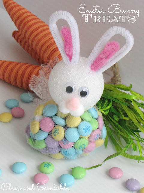 easter treat egg bunny - photo #6