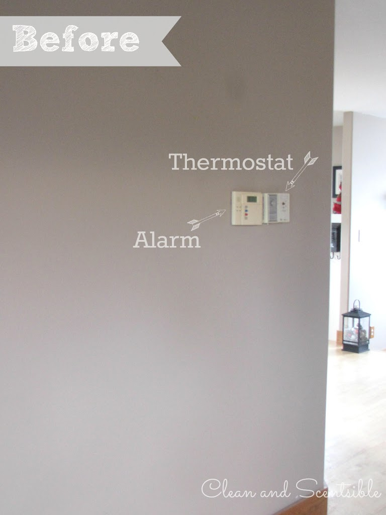 how to put in a thermostat in the house