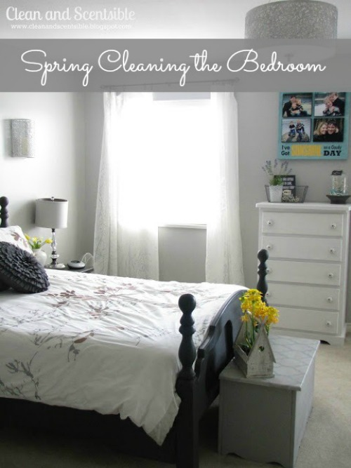 How to Clean the Master Bedroom {wtih free printable checklist}