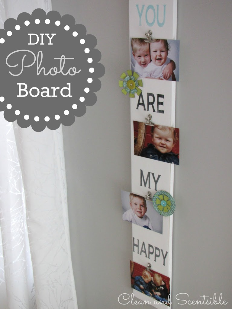 Easy DIY Photo Display Tutorial
