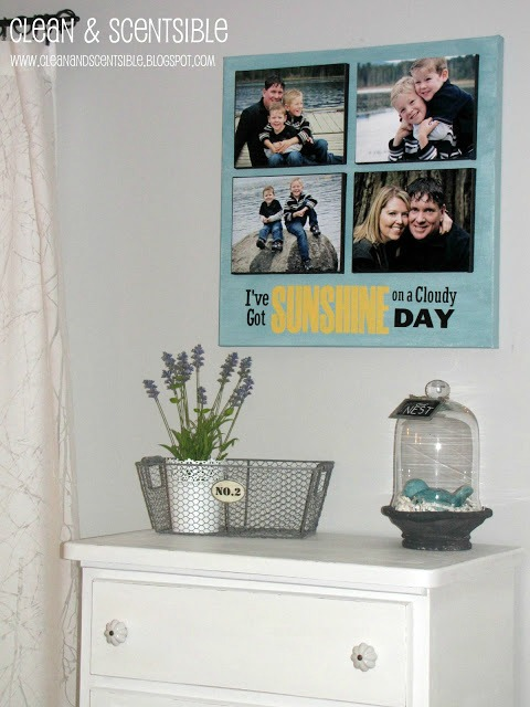 DIY Layered Canvas Photos
