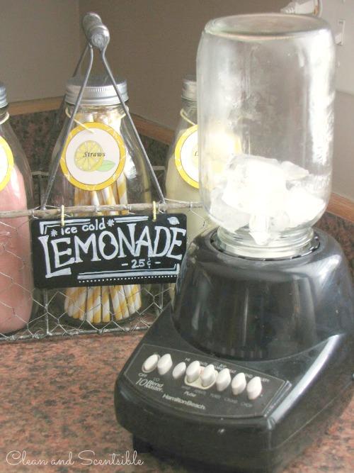 Cherry Lemonade Slushie
