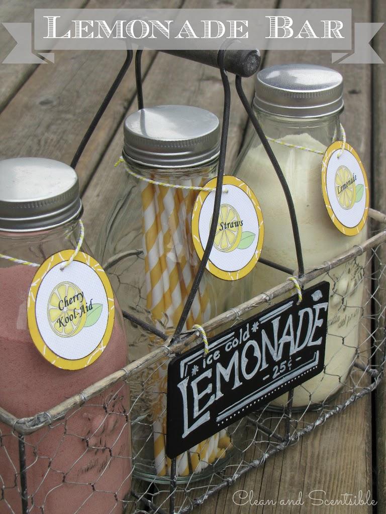 Lemonade Bar