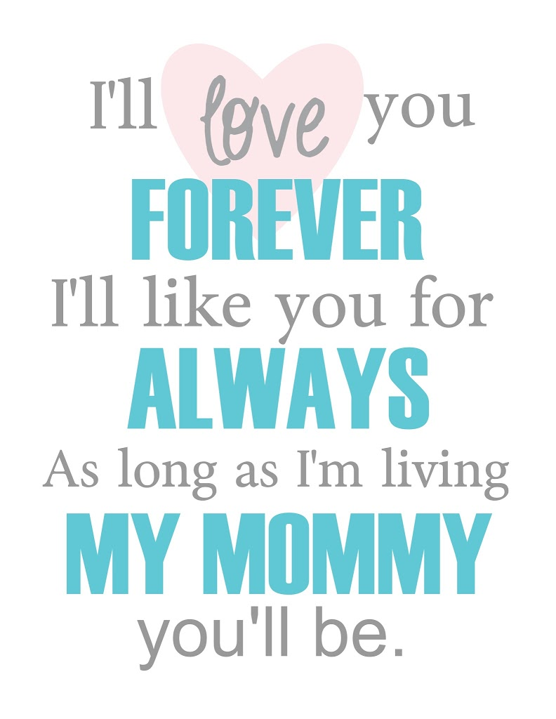Marvelous I Ll Love You Forever
