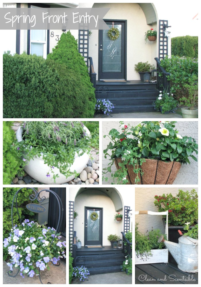 Spring Front Porch And Entry Clean And Scentsible