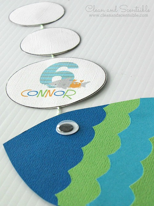 Cute Under the Sea invitations!  Fun for a pool party too.