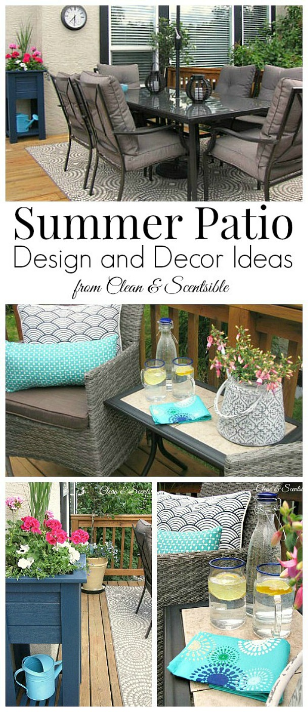 Lots of great patio decor ideas!