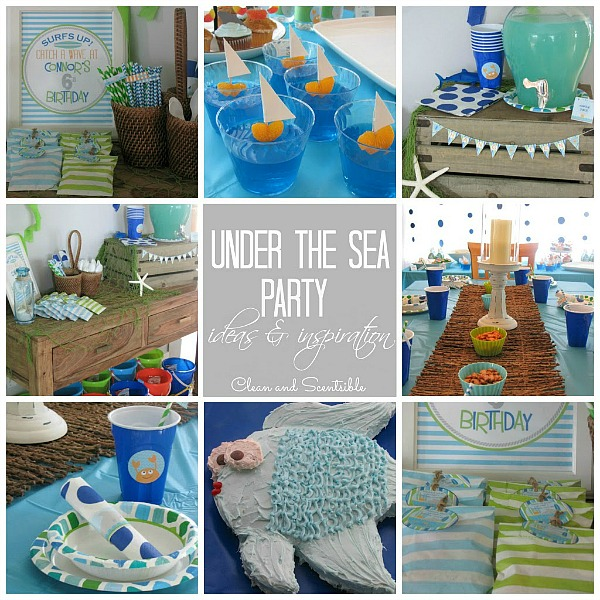 Under The Sea Party Clean And Scentsible