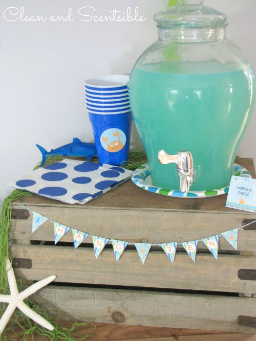 Cute Under the Sea party ideas!
