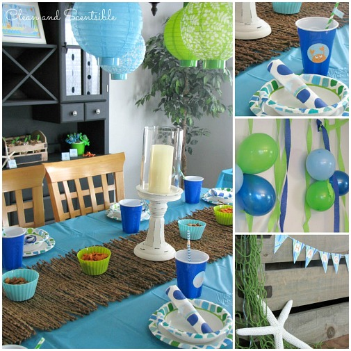 I love this Under the Sea party!
