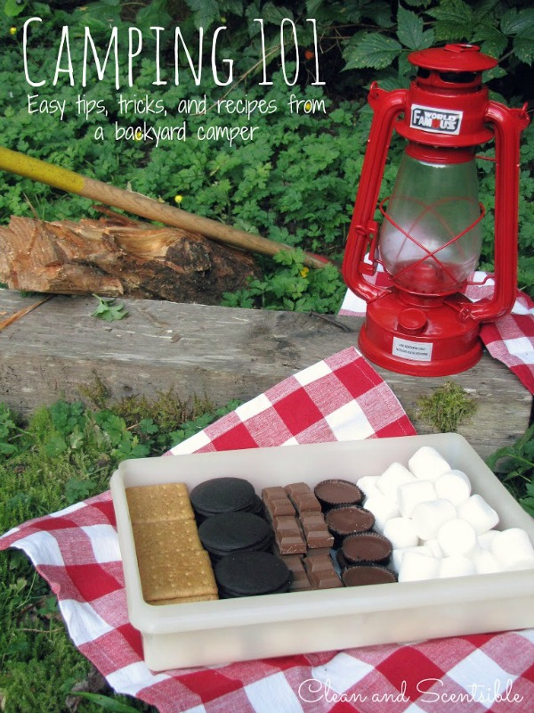 Recipes, tips and tricks to help with your camping adventures!