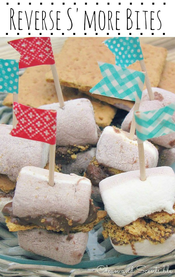 Reverse S'mores Bites - this is a fun little treat!