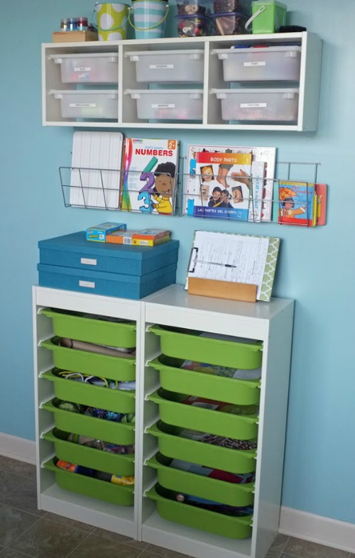 The Household Organization Diet - How to organize kids' toys.