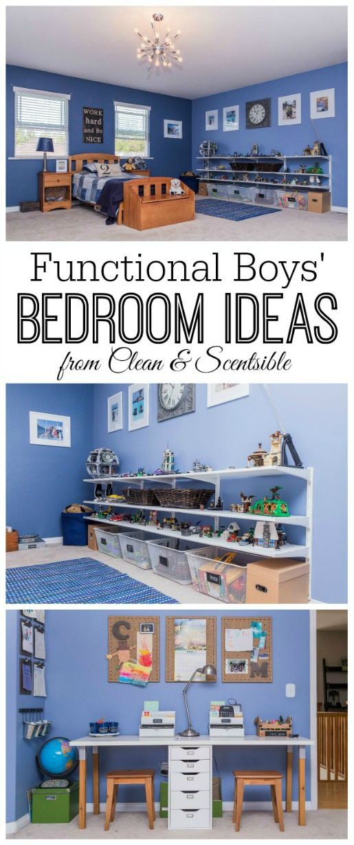 Great organization ideas for the kids' bedrooms!