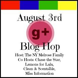 G+ Blog Hop for August