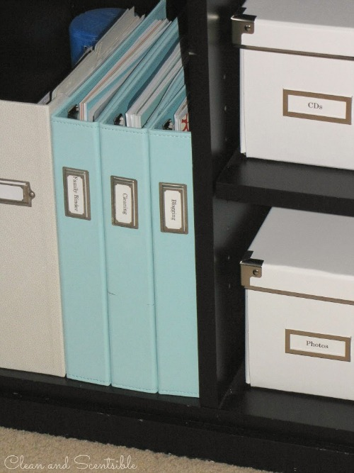 Home Office Organization - Clean and Scentsible