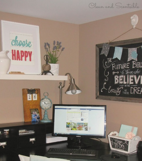 Home Office Organization Clean And Scentsible