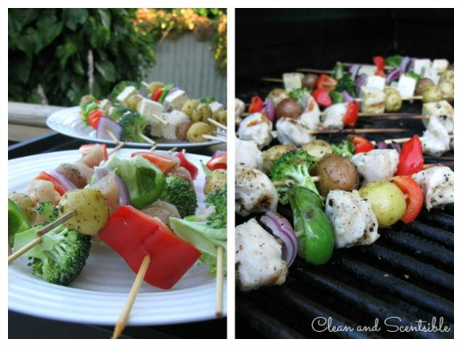 Fun kabob bar and other tips for feeding picky eaters!