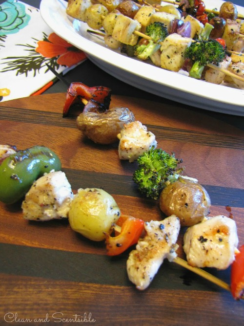 Fun kabob bar and other tips for feeding those picky eaters!