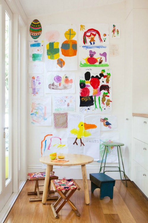 How To Display Kids 39 Artwork Clean And Scentsible