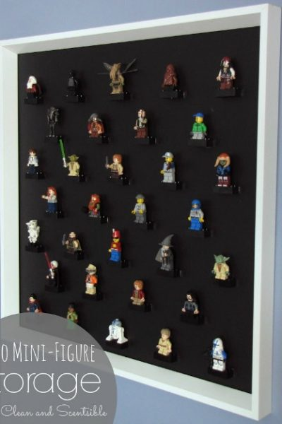 Awesome Lego Mini Figure storage ideas.