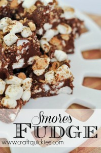 S'mores Fudge from Craft Quickies