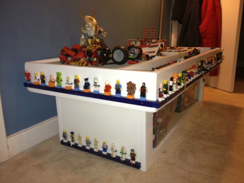 Awesome Lego mini-figure storage ideas!