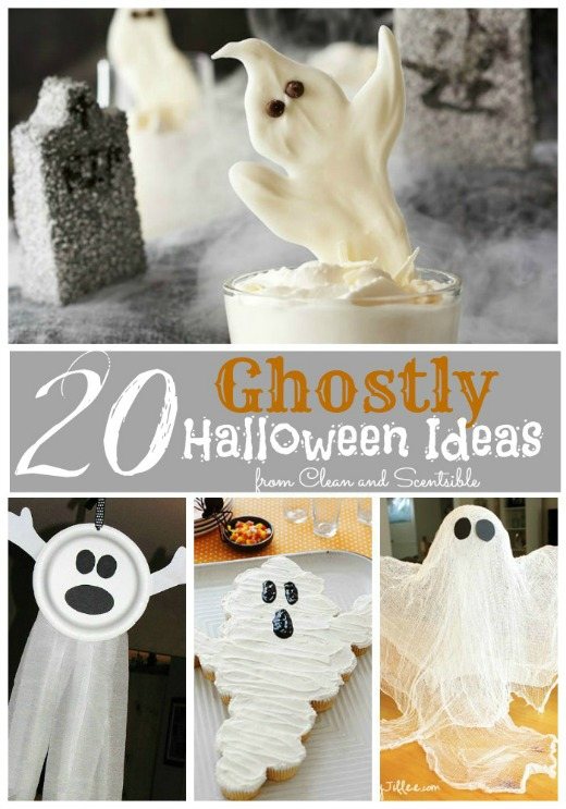 20 Ghostly Halloween Ideas!