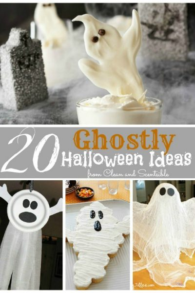 20 fabulous Halloween ghostly ideas!