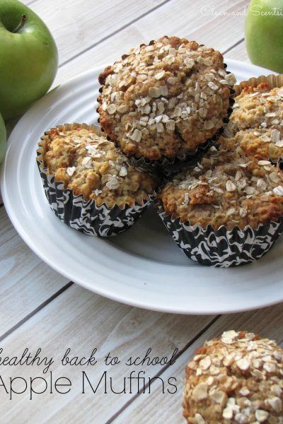 Healthy Apple Muffins {Guest Posting at Lil' Luna}