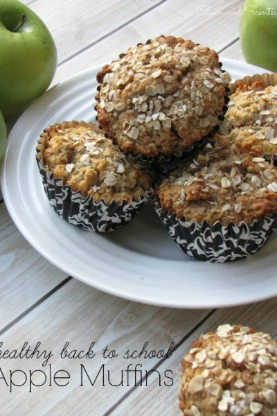Healthy Apple Muffins. Perfect for those breakfasts on the go or afternoon snack.