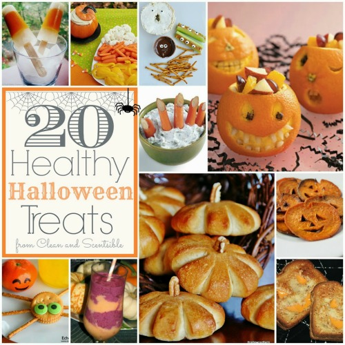 Lots of healthy Halloween food ideas. Who says healthy can't be fun?