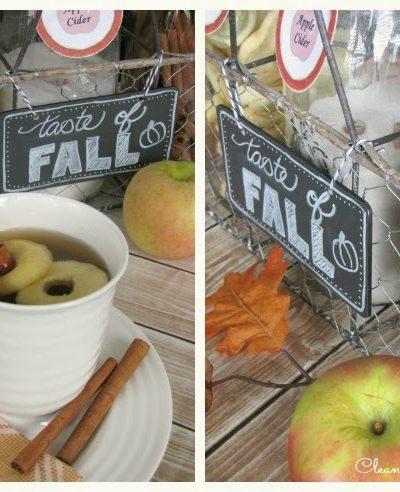 Apple Cider Bar and Recipe