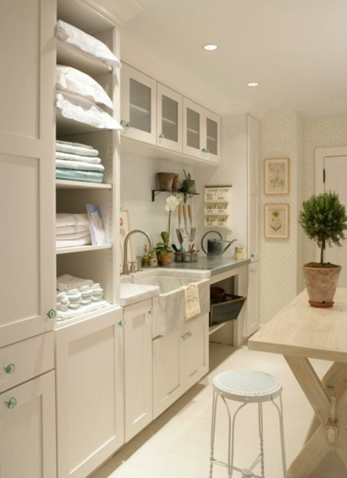 Design Your Own Laundry Room: Laundry Room Inspiration And The September Household