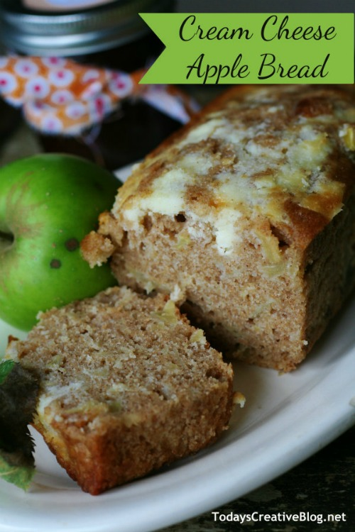 Cream Cheese Apple Bread -20 of The Best Apple Recipes