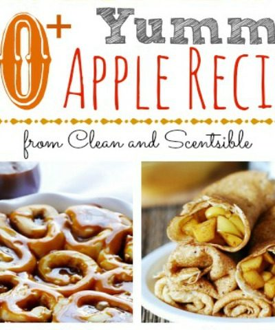 Over 20 of the best apple recipes around!