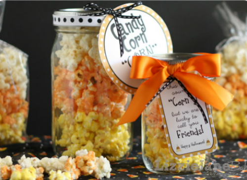 Candy Corn Popcorn and lots of other fun candy corn inspired food ideas!
