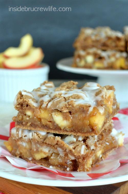 Caramel Apple Bars - 20 of The Best Apple Recipes